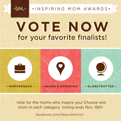 Inspiring Mom Awards- vote today