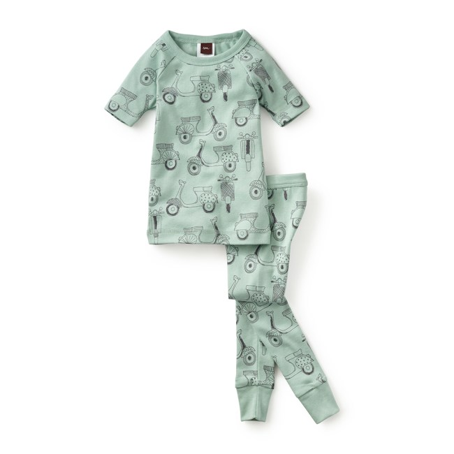 Girl Scooter Pajamas