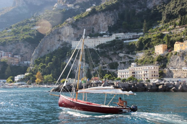 Sorrento Boat Trip - Tauck & Tea Collection - Travel to Italy