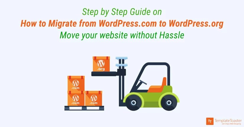 How to Migrate from WordPress to WordPressorg Step by Step