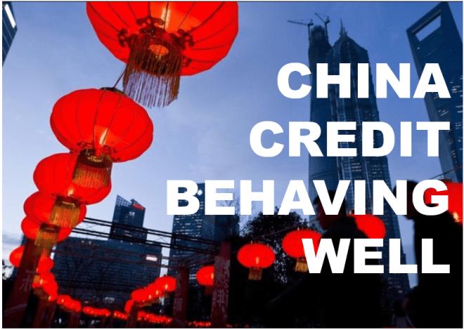 china credit