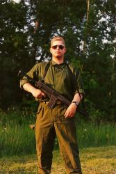 Me in 1990 during a training exercise in Sweden.