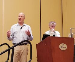 Pete Janzen and Martin Donnelly of IBM