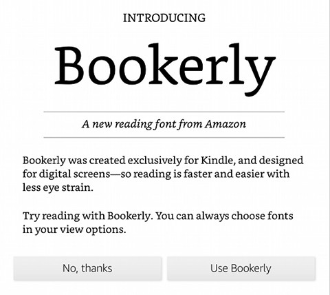 What is Your Favorite Kindle Font Type? The eBook Reader Blog