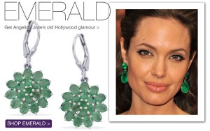 Emeralds with Angelina Jolie