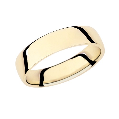 Simple wedding bands will suit most engagement rings
