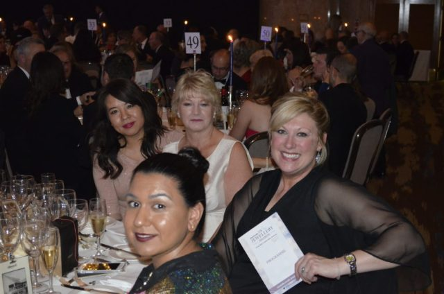 TJC at the UK Jewellery Awards 2016: (left to right) Tara, Faye, Julie & Yi