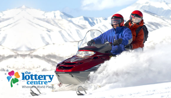 The Lottery Centre features snowmobile adventures