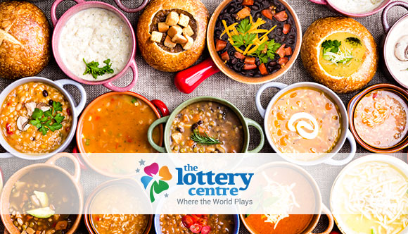 The Lottery Centre esplores soups around the world.