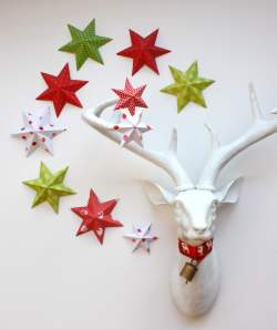 Appealing Paper Wall Stars Decorations Effortless Paper Decorations Paper Blog Paper Decorations To Buy Paper Decorations To Make At Home