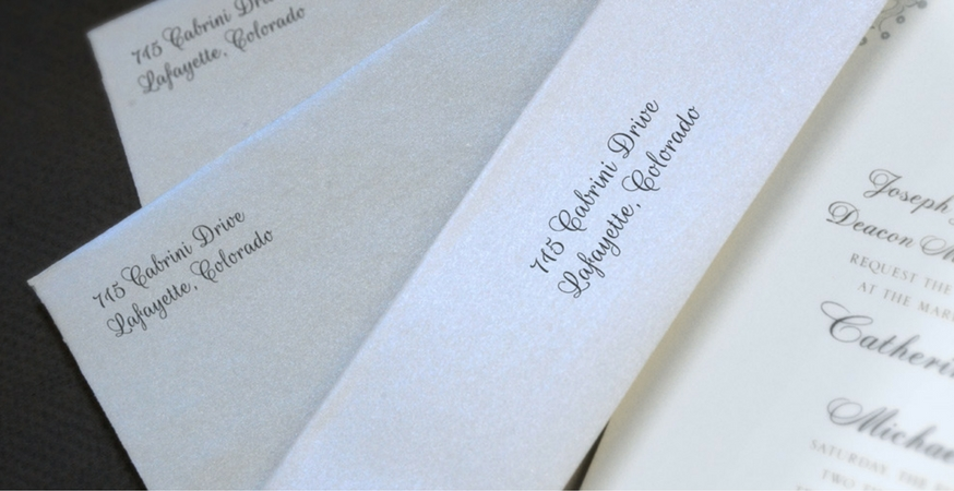 Dos and Don\u0027ts for Writing Wedding Thank You Cards The Paper Blog