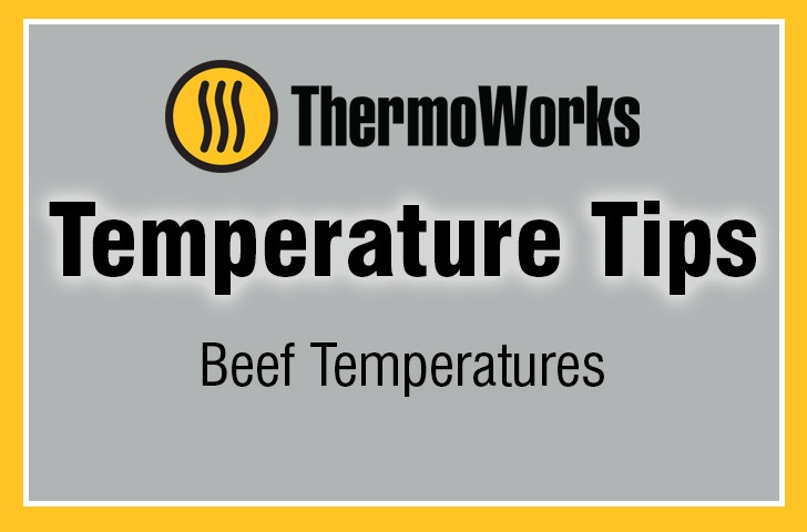 Beef Temperature Chart ThermoWorks