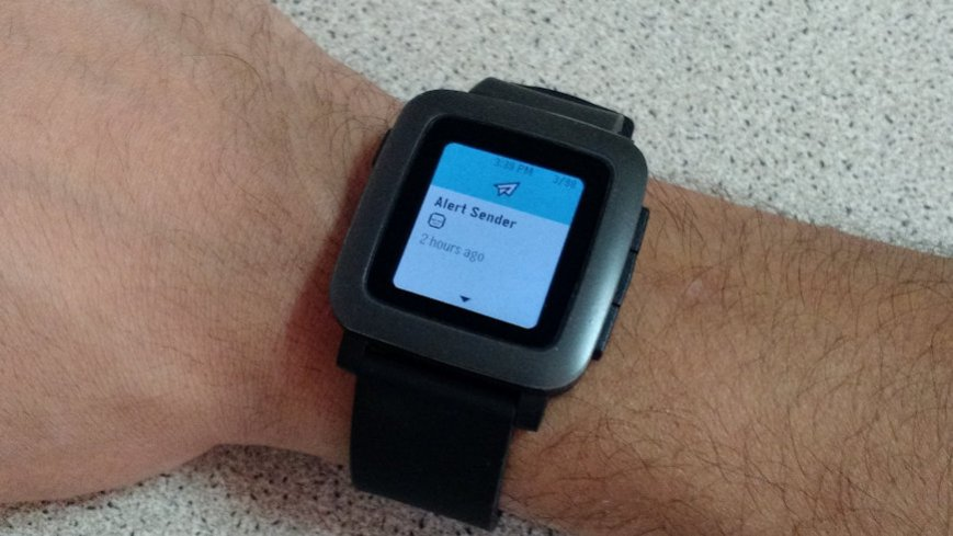 Pebble getting filters for notifications