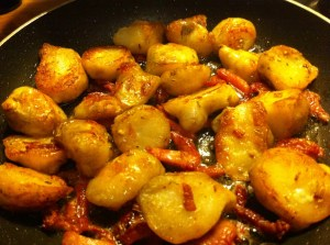 Potato recipe competition - Posh sauteed potatoes