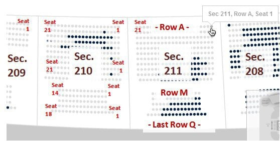 36 Luxury Images Of Gillette Stadium Seating Chart With Seat