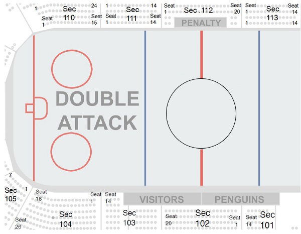 Pittsburgh Penguins Seating Chart PPG Paint Arena TickPick
