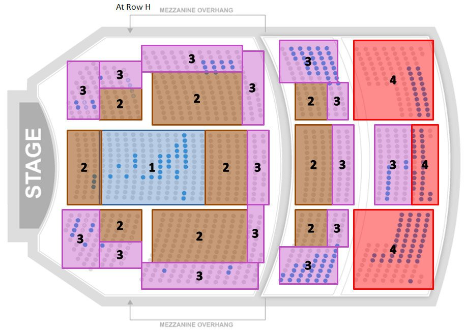 Richard Rodgers Theater Seating Chart Hamilton Seating Guide