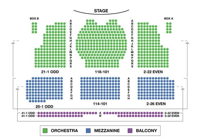 Walter Kerr Theatre Seating Chart Bruce Springsteen Shows TickPick