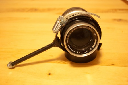 here the follow focus is attached to a 105 3.5