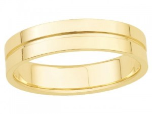 ILIANA 18K Y Gold Precision Made Ring