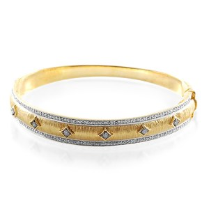 Something glittering for Christmas - this diamond and gold bracelet is perfect! £150.99