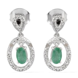 Vintage earrings are the perfect touch to any evening look