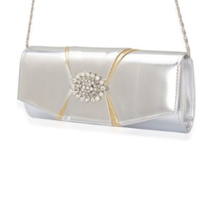 Keep things classic with a simple clutch