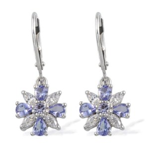 Go for something cool and subtle with pale tanzanite