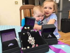 Selling jewellery is fun, buying jewellery is fun and sometimes the line between gets blurred…