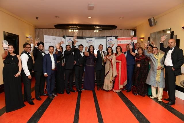 TJC at the British Indian Awards 2016