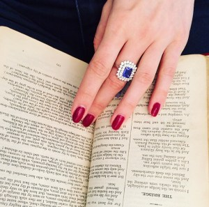 Follow the Trend: Birthstone Engagement Rings