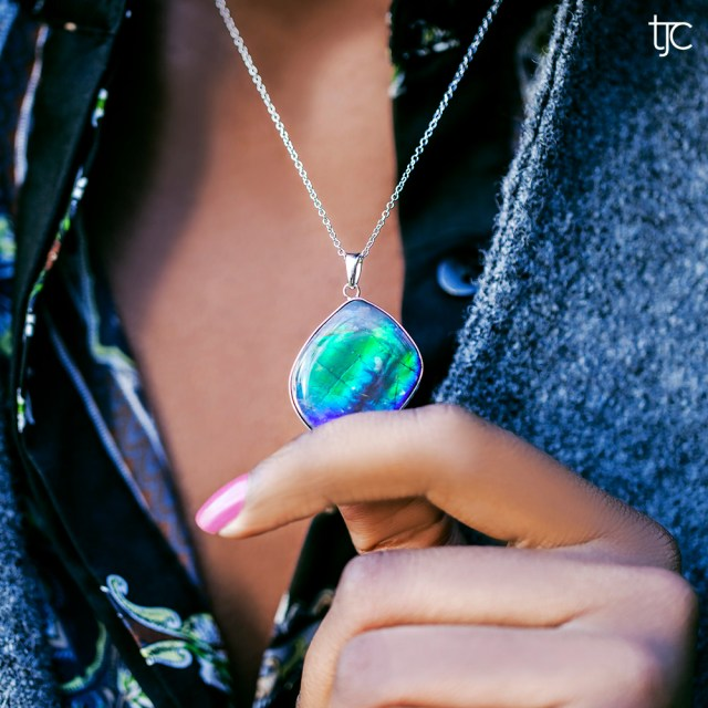 Turn over a new leaf with Ammolite