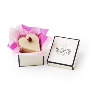 Heyland and Whittle Handmade and Natural Queen of the Nile Heart Soap