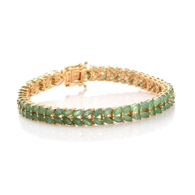 green and yellow bracelet