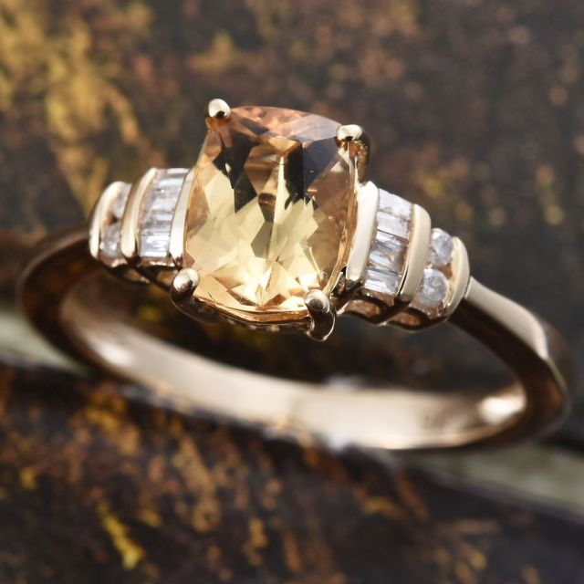 Colours of topaz - Imperial topaz ring