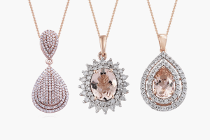 Rose gold jewellery at TJC