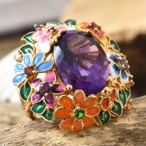 TJC ring with enamelling
