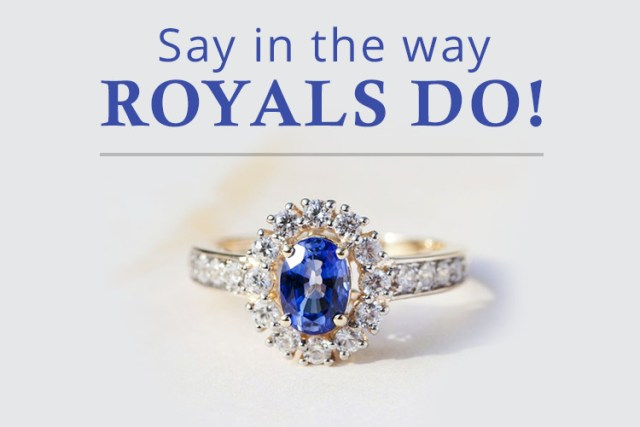 Royal Engagement rings designs at TJC