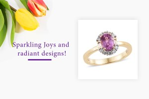 ILIANA 1.20 Ct AAA Pink Sapphire and Diamond SI GH Half Halo Ring in 18K Yellow Gold