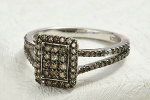 Champagne Diamond Jewellery