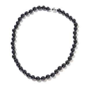 Boi Ploi Black Spinel (Rnd Beads) Necklace
