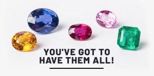 Bucket list of rare coloured gemstones