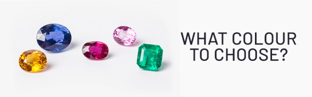 Choosing gems while buying engagement ring