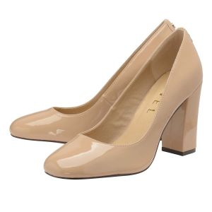 Ravel Nude Baldwin Patent Court Shoes