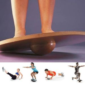 Fitness Balance Board Wooden Wobble Balance Board