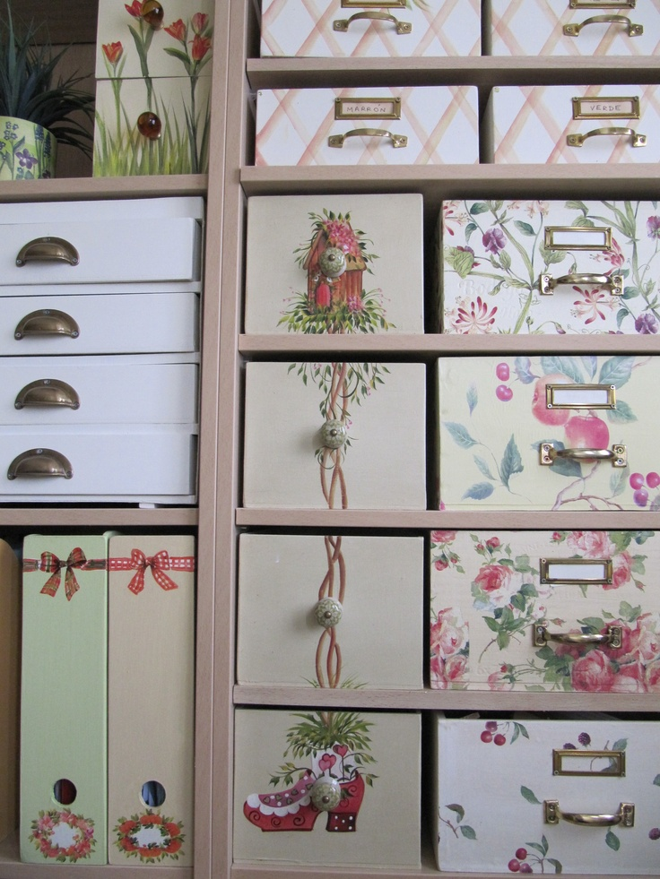 Como Decorar Un Placard Ideas Con Decoupage - Todo Bonito
