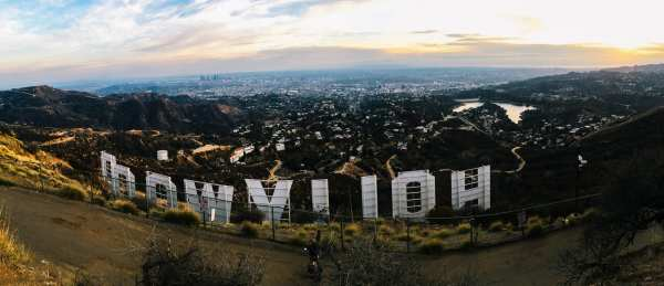 Los Angeles travel Hollywood sign