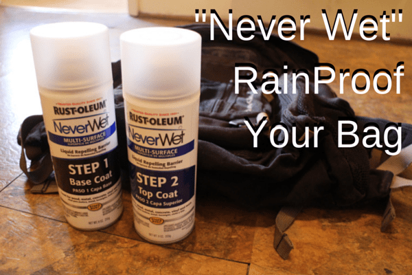 travel hack never wet