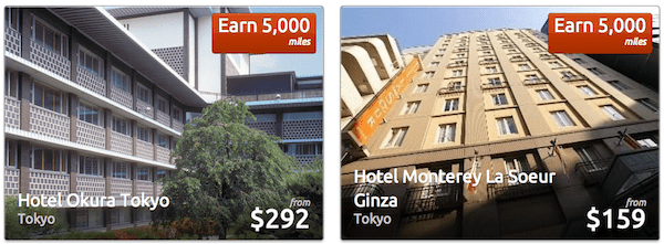 Earn miles at hotels with Rocketmiles