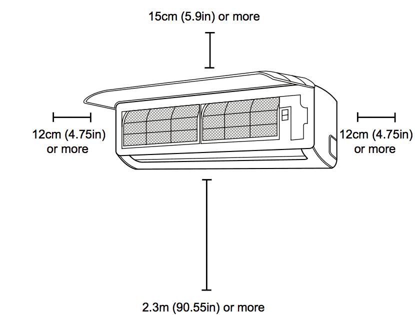 split type aircon installation diagram